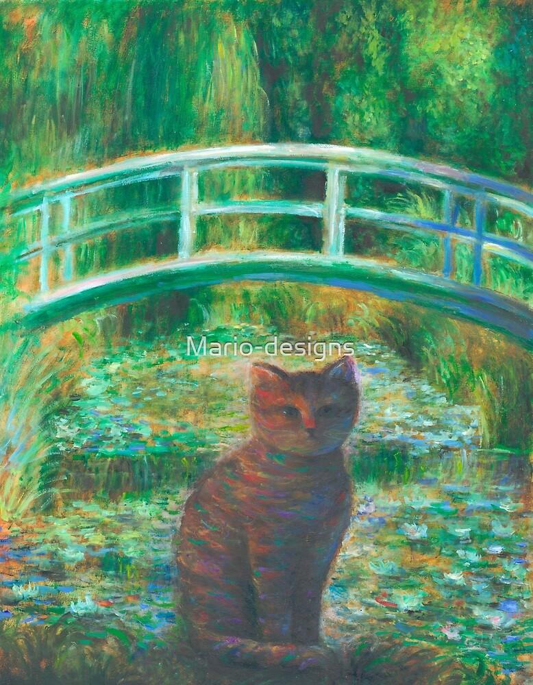 Monet Cat by Mario-designs