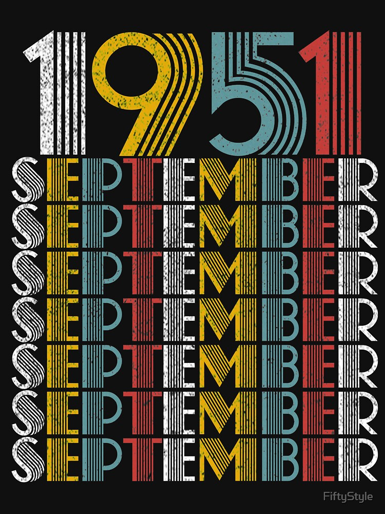 Vintage September 1951 Birthday Gifts  by FiftyStyle