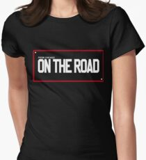 On the Road Women's Fitted T-Shirt