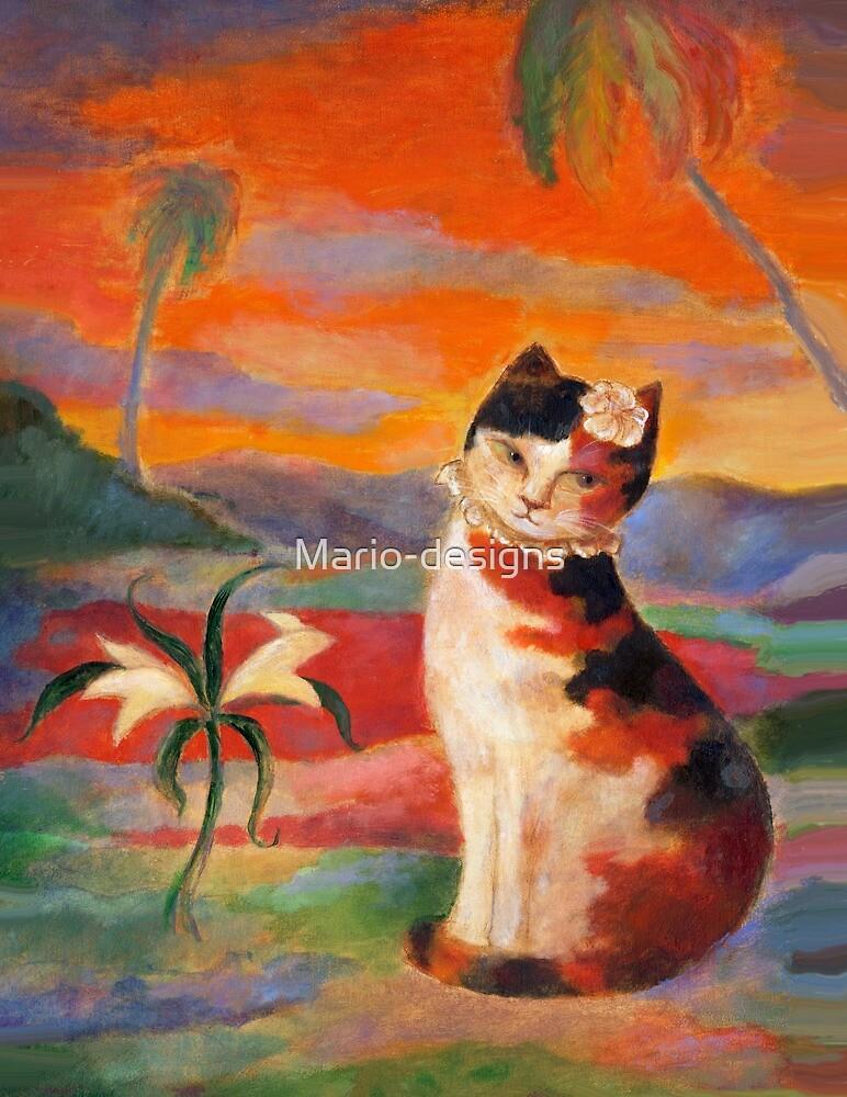 Gauguin Cat by Mario-designs