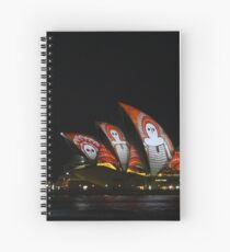 Vivid 2016 - Song Lines #2 Spiral Notebook
