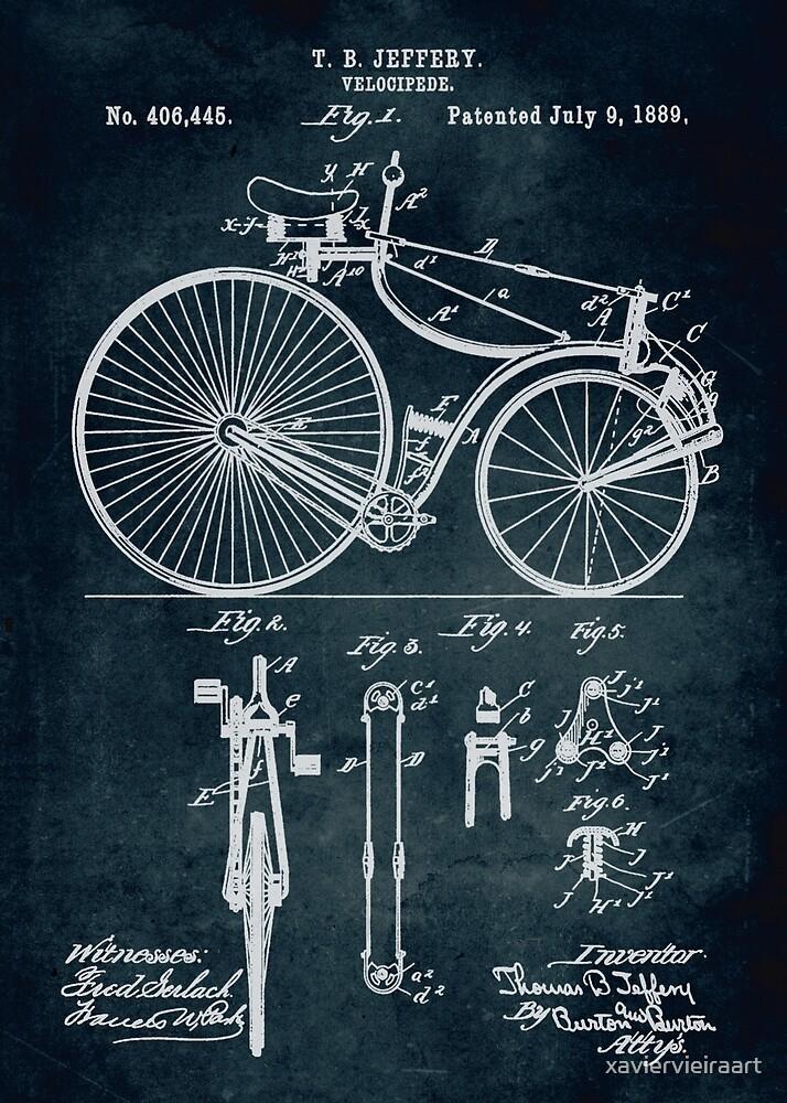 Velocipede patent by xaviervieiraart