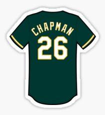 Matt Chapman Jersey Sticker