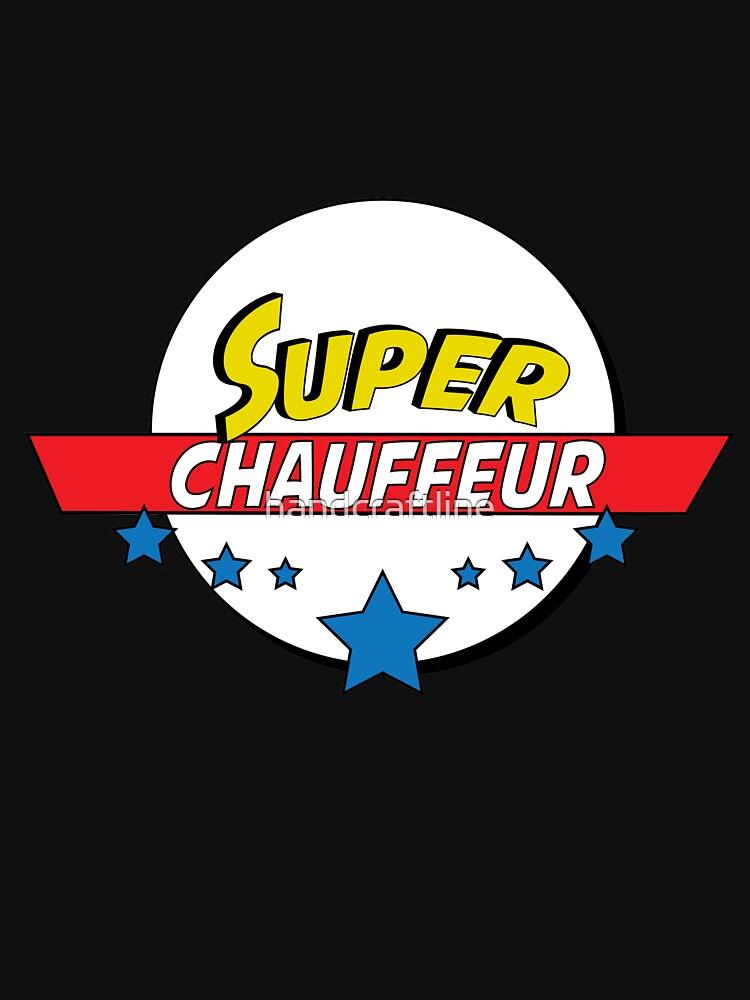 Super chauffeur, #chauffeur  by handcraftline