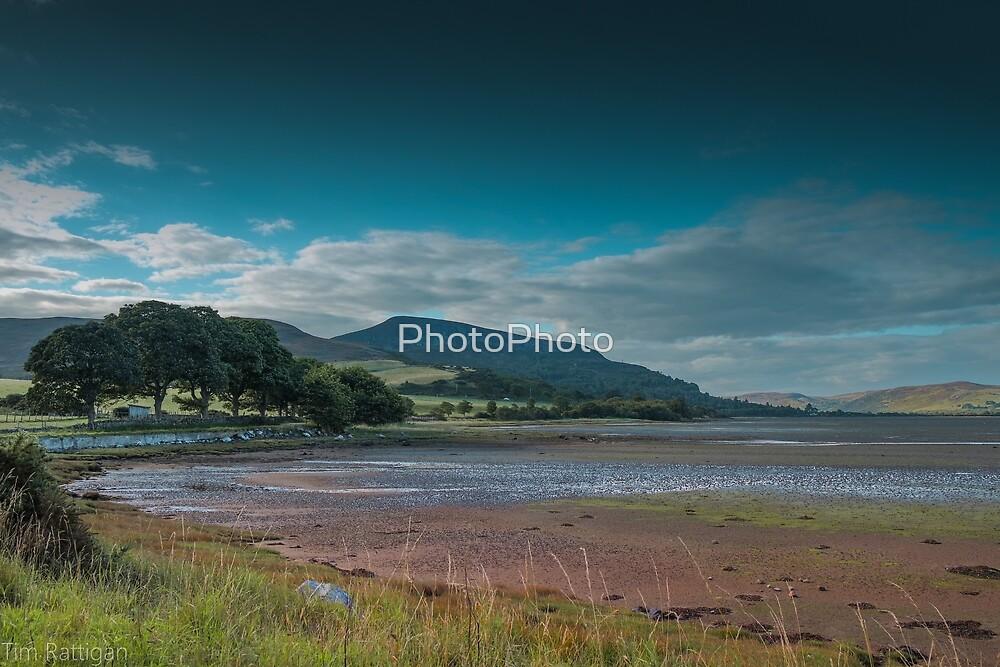 Loch Fleet Shore by PhotoPhoto