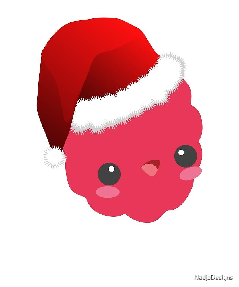 Christmas raspberry gift Christmas present by NadjaDesigns