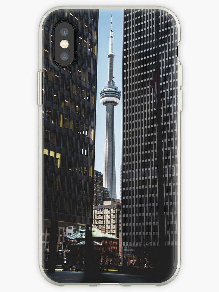 CN tower Toronto view  by VinyLab