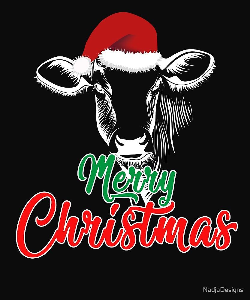 Merry Christmas gift Christmas present by NadjaDesigns