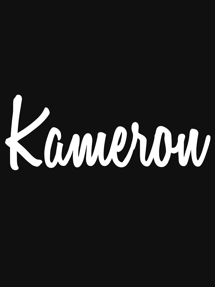 Hey Kameron buy this now by namesonclothes