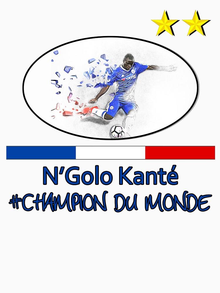 N'Golo Kanté 3D effect World Champion by SmilerZOfficial