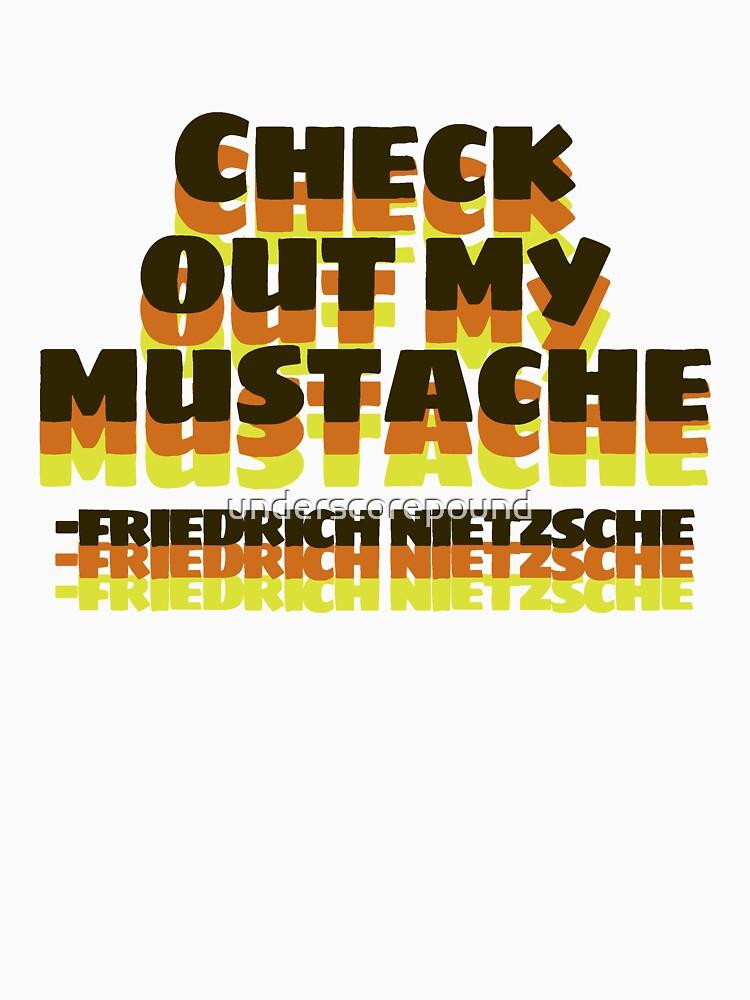 Friedrich Nietzsche Mustache by underscorepound