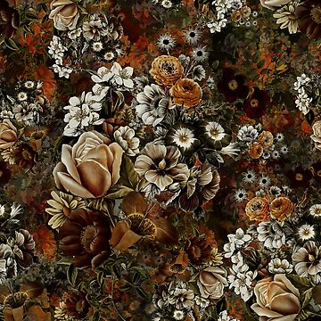 Night Garden Gold by rizapeker