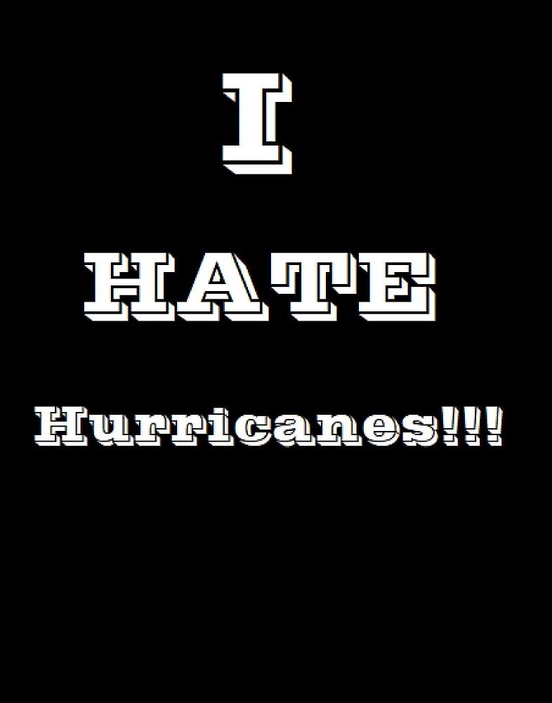 I hate hurricanes! by mathgodswoman