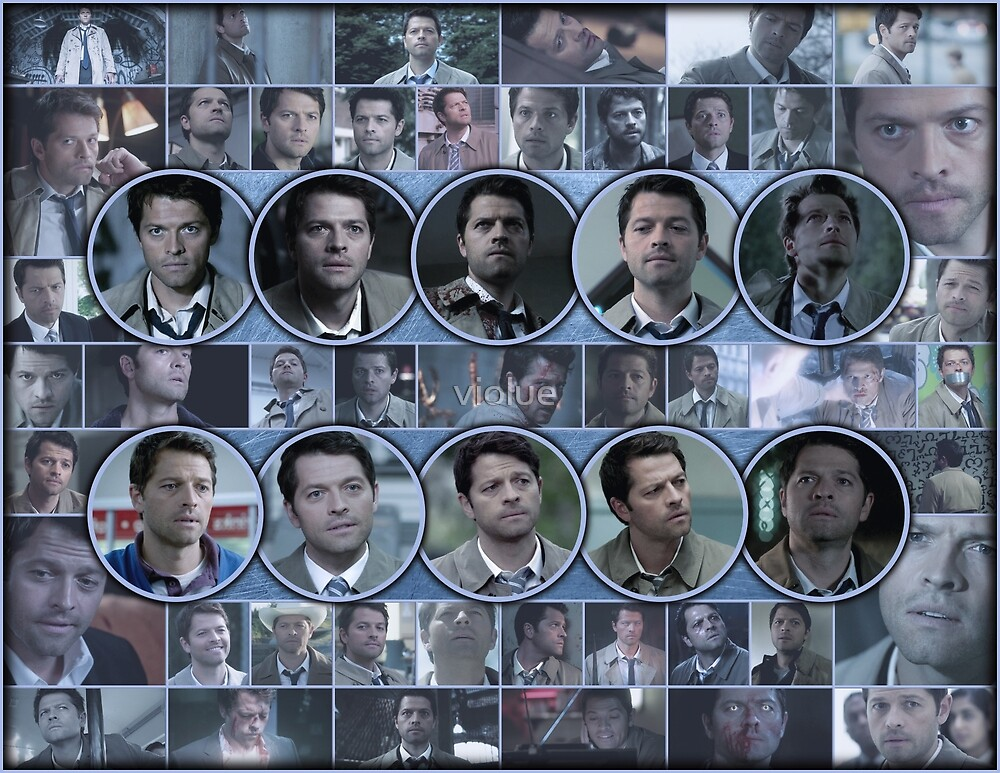 Evolution of Castiel 2 by violue