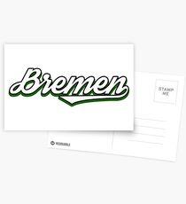 Bremen city germany vintage Postcards