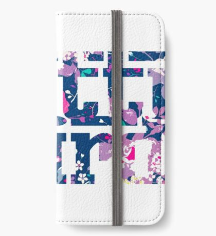 Pretty Weird Logo  iPhone Wallet