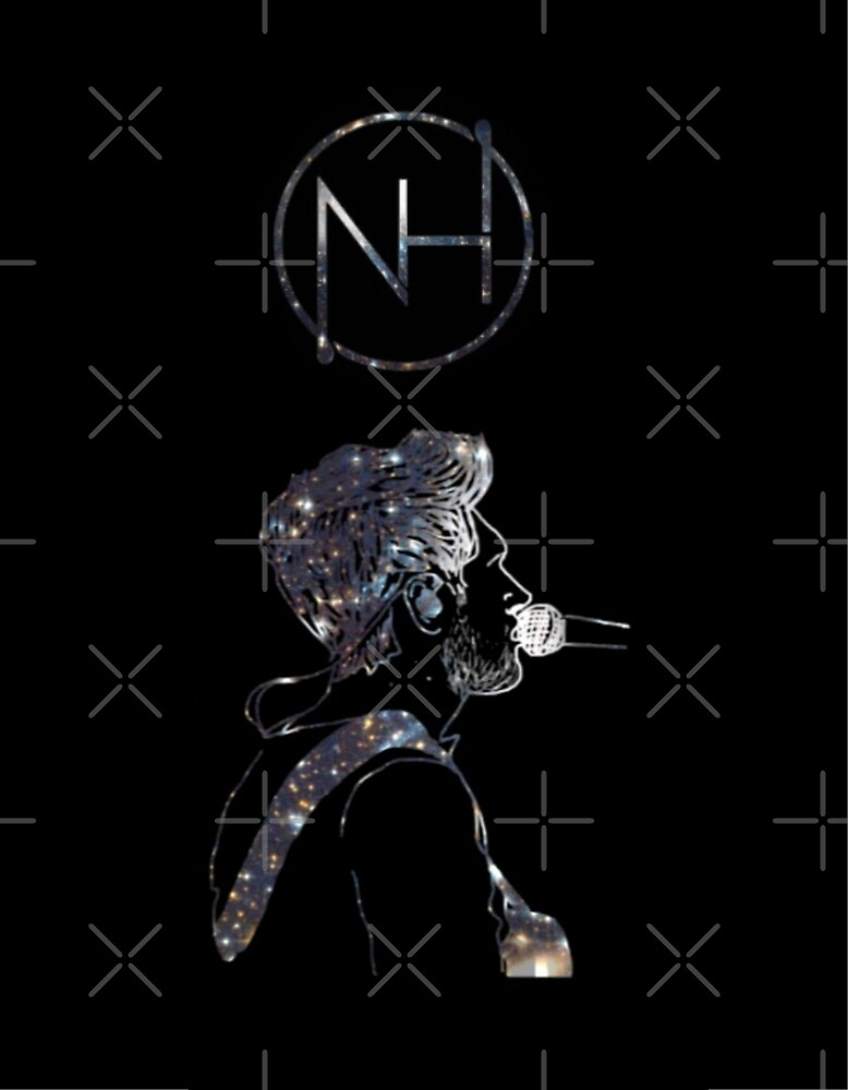 Niall Horan galaxy outline black by LauAndTess
