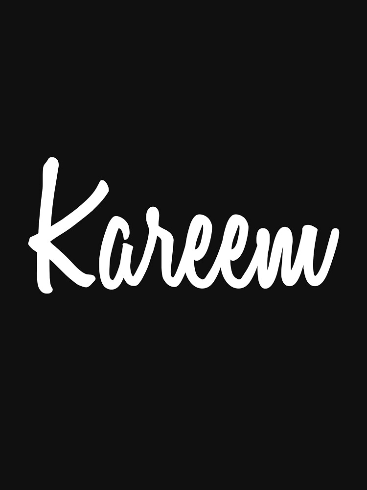 Hey Kareem buy this now by namesonclothes