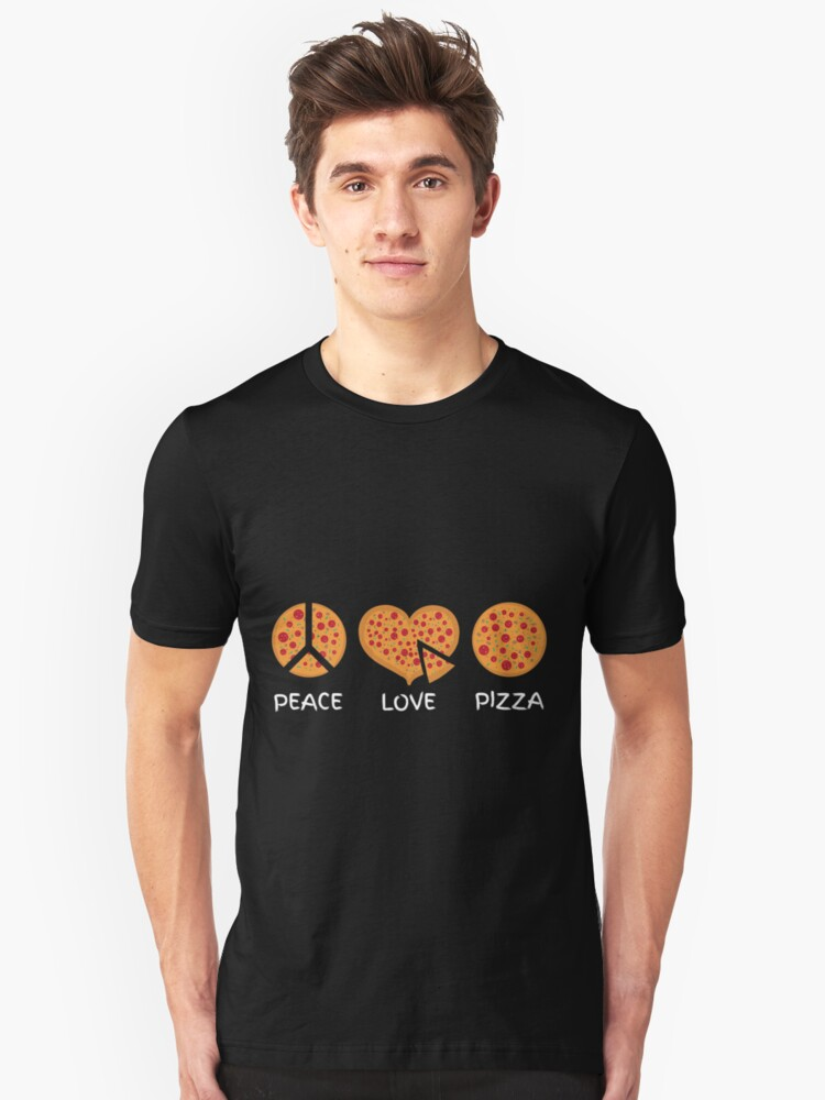 Pizza lovers Unisex T-Shirt Front