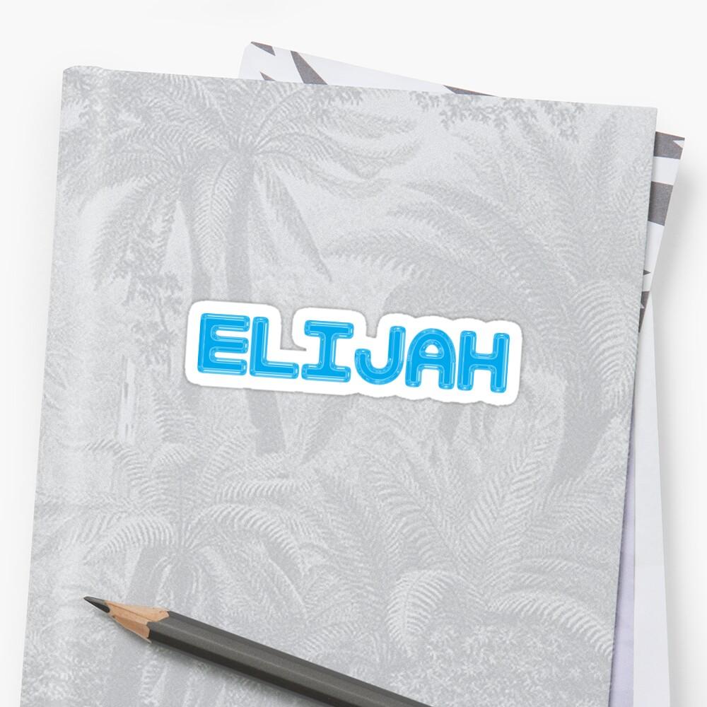 Elijah by Shalomjoy