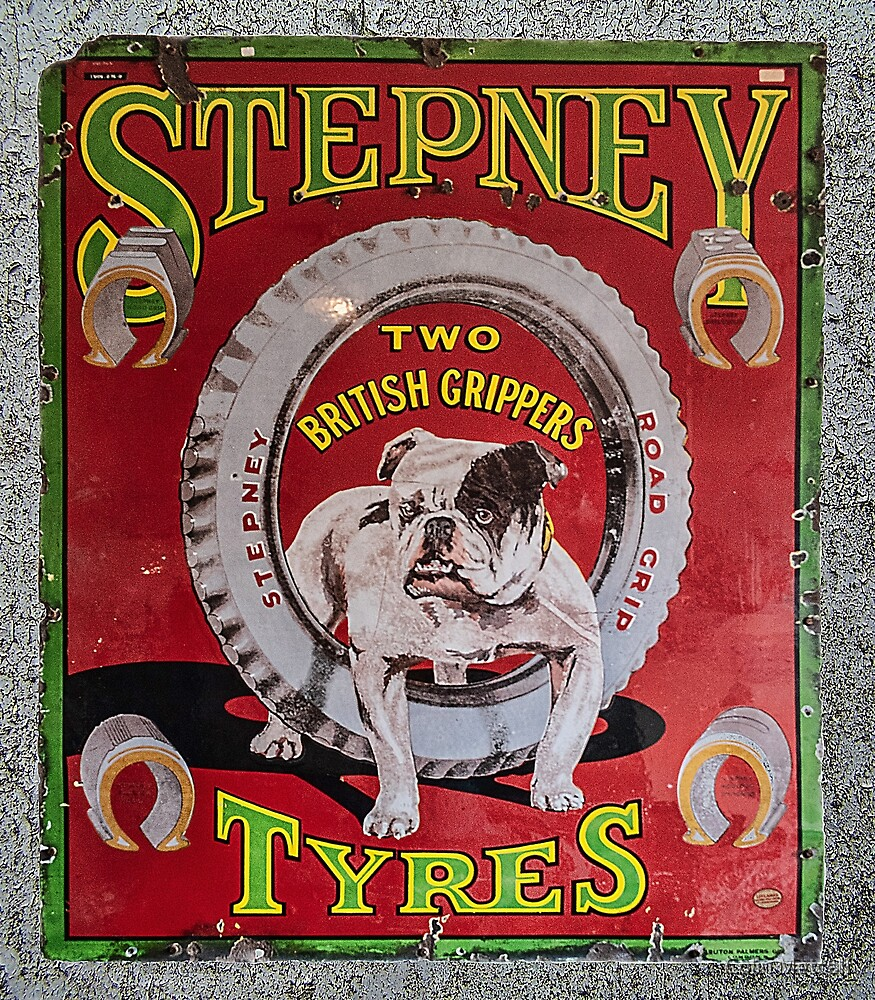 Stepney Tyres by Colin Metcalf