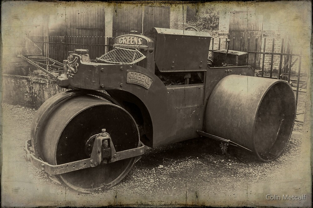 Thomas Green Road Roller by Colin Metcalf