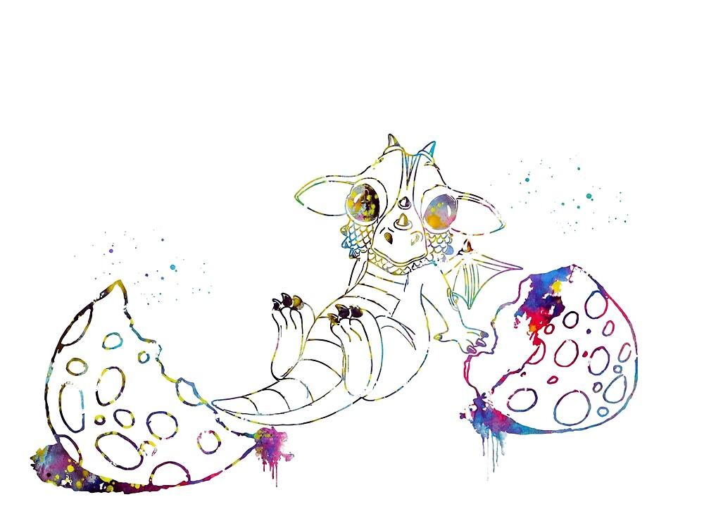 Cute baby Dragon by erzebetth