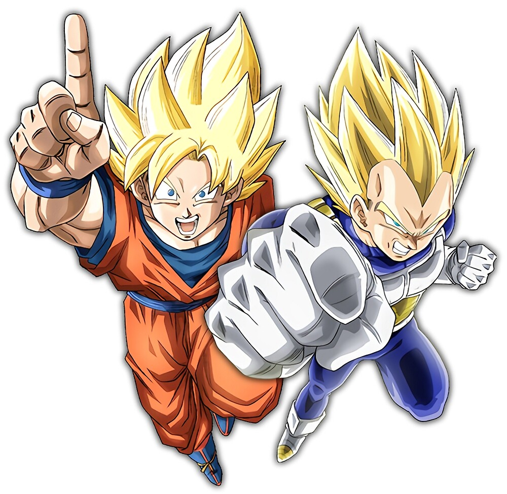 Saiyan Brothers by KingHughes