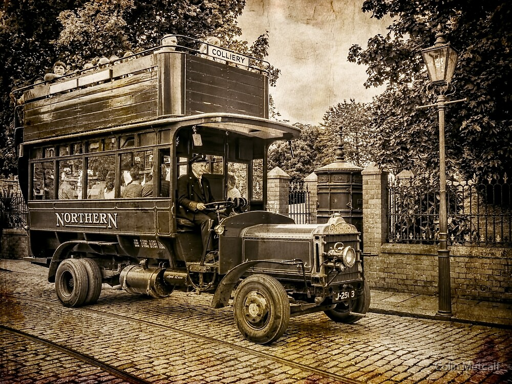 A Daimler Omnibus by Colin Metcalf