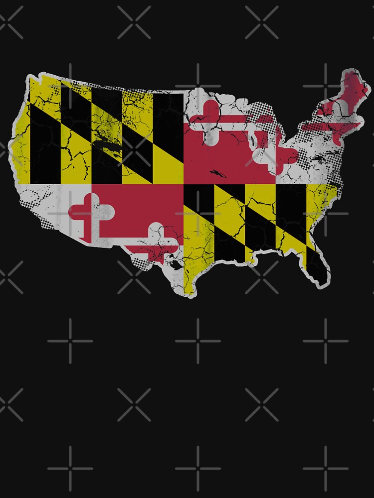 USA Baltimore Flag by frittata