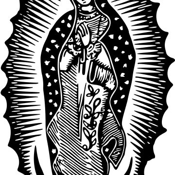 Virgin of Guadalupe  by thatstickerguy