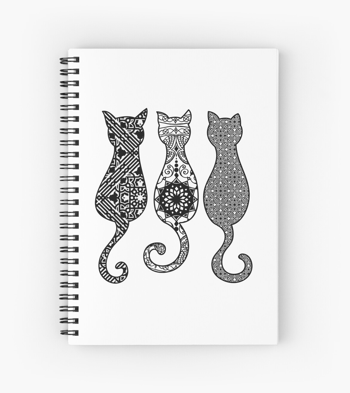 Geometric Cats by Bothaina