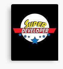 Super Developer, #Developer  Canvas Print
