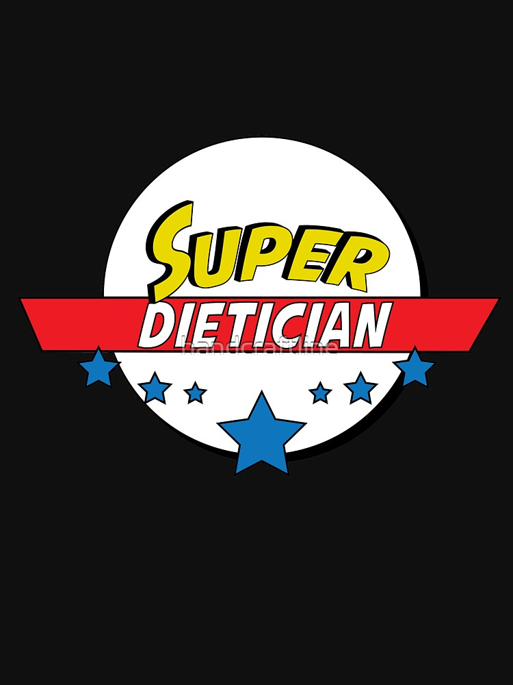 Super dietician, #dietician  by handcraftline