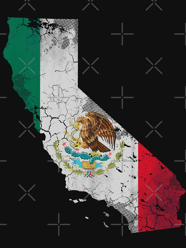 California Mexico Flag by frittata