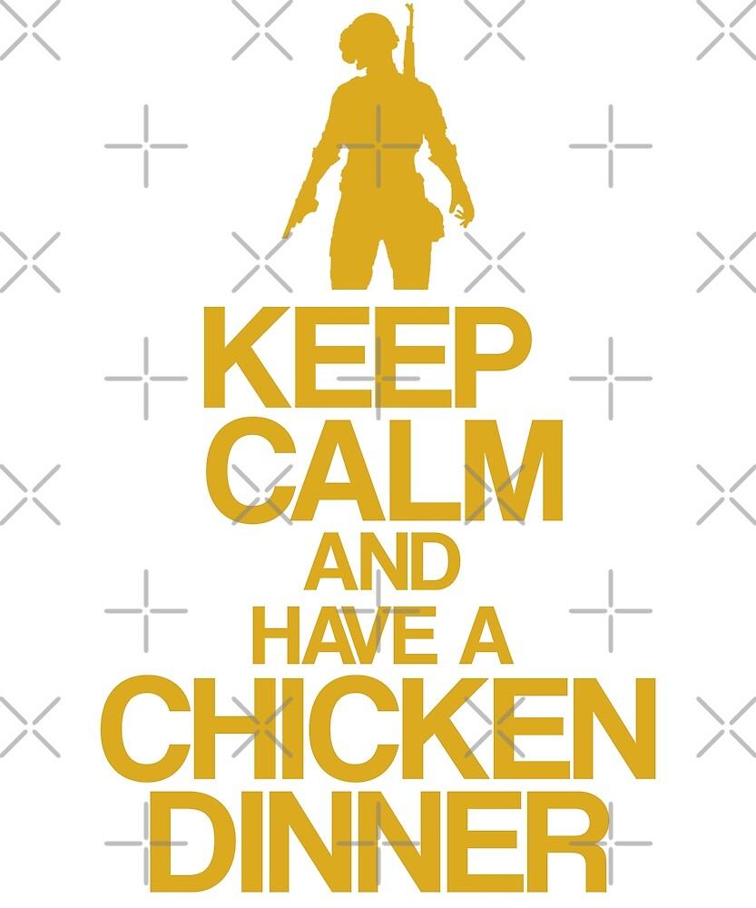 Keep Calm PUBG by Nkioi