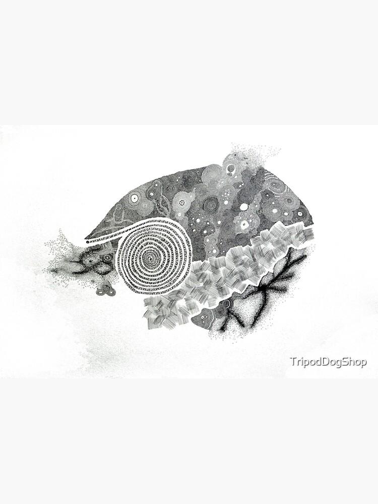 Carrickalinga Sand Graphite by TripodDogShop