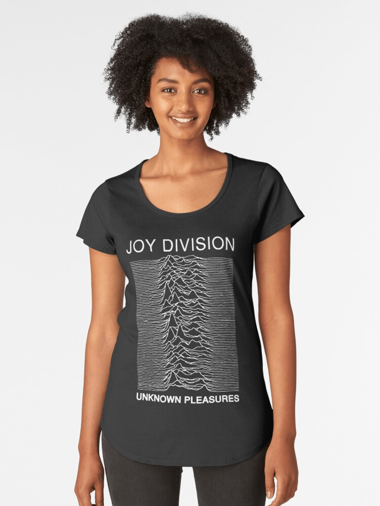 Joy Division - Unknown Pleasures Women's Premium T-Shirt Front