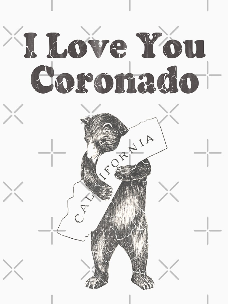 I Love You Coronado California by frittata