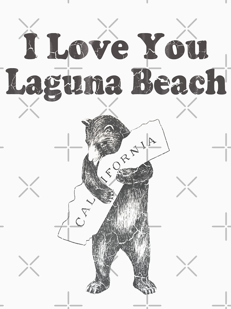 I Love You Laguna Beach California by frittata