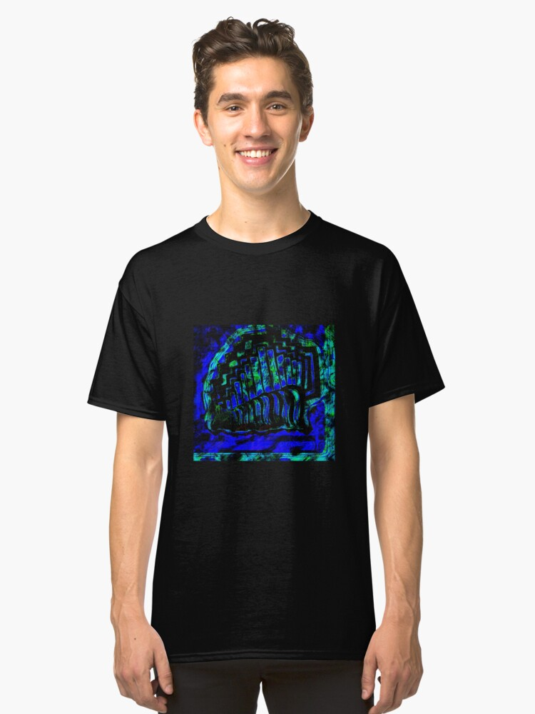 Ocean blue  Classic T-Shirt Front