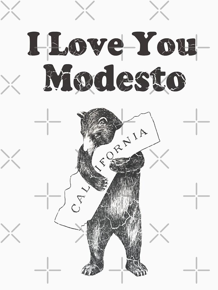 I Love You Modesto California by frittata