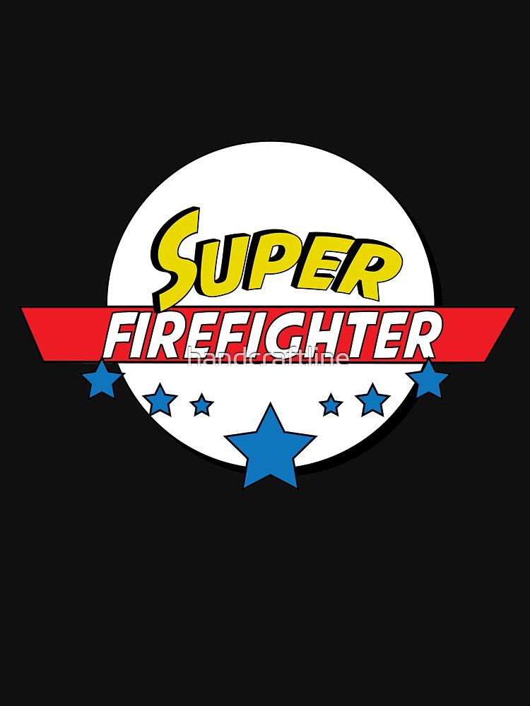 Super Firefighter, #Firefighter  by handcraftline