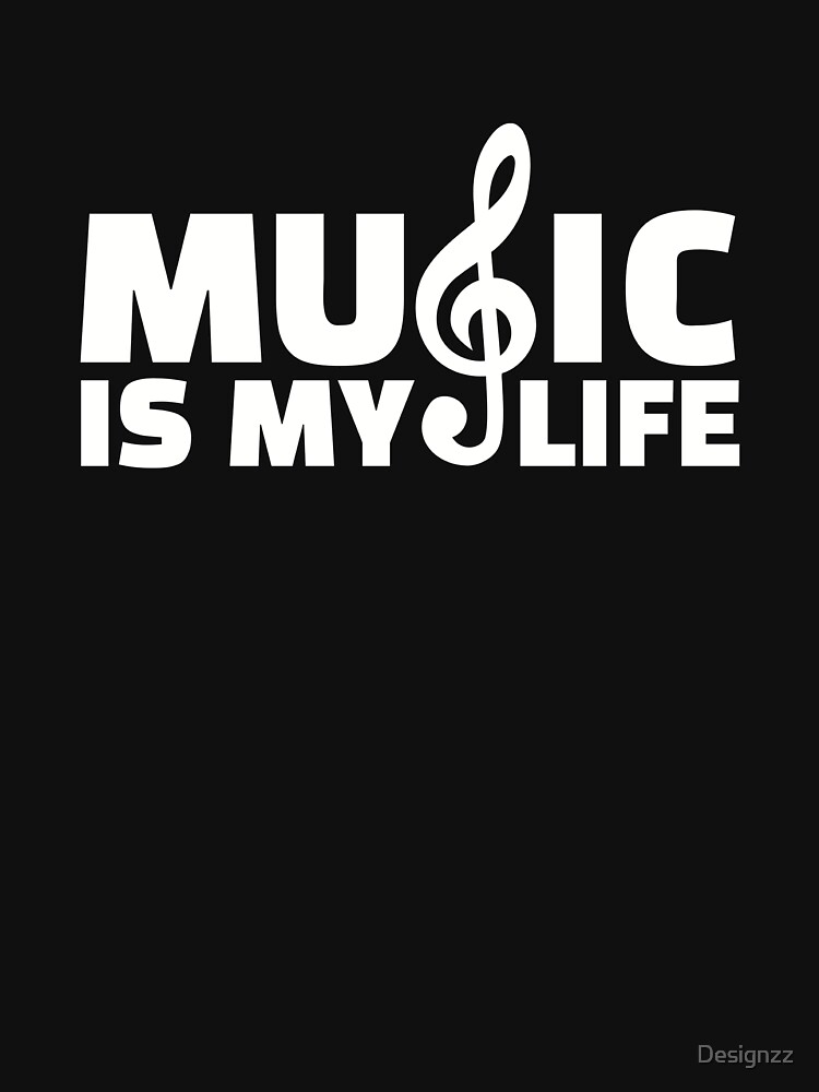 Music is my life by Designzz