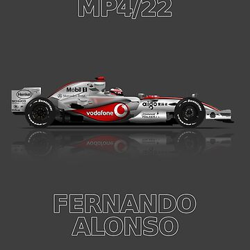 Formula 1 - Fernando Alonso - McLaren MP4/22 by JageOwen