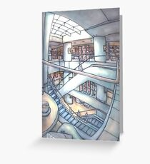 House of Fraser,  Cafe, Nottingham Greeting Card