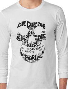 Die Die My Darling Sticker Long Sleeve T-Shirt