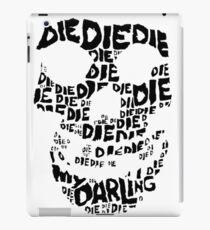 Die Die My Darling Sticker iPad Case/Skin