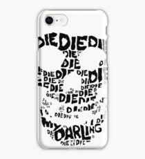Die Die My Darling Sticker iPhone Case/Skin
