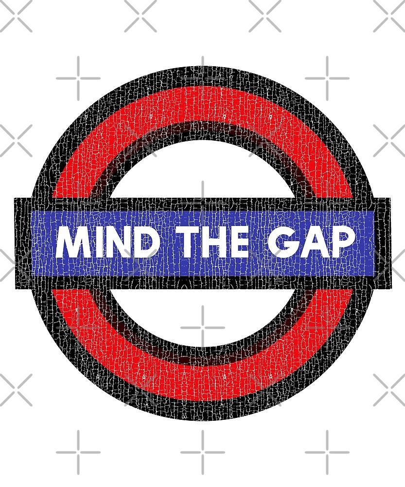 Mind The Gap - London Underground by madtoyman